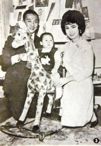 林黛全家福丈夫与儿子