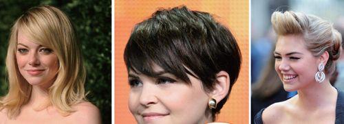 圆脸适合的发型图片/圆脸适合什么发型和刘海 - 社会