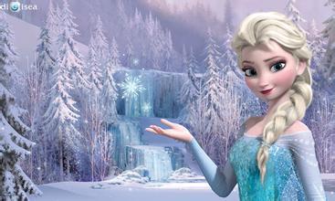 冰雪奇缘艾莎女王图片