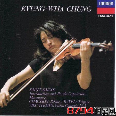 韩国小提琴家音乐家郑京和个人资料简介1