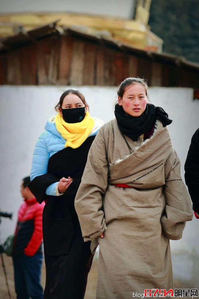 安多藏族女子多妩媚
