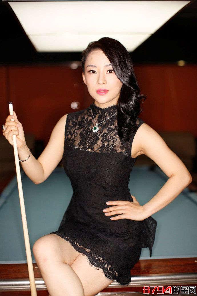 中国10大台球美女究竟谁最美最性感