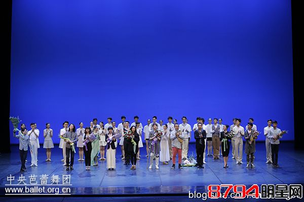 舞动青春 <wbr>镜像人生——中央芭蕾舞团《第六届芭蕾创意工作坊晚会》首演成功举行