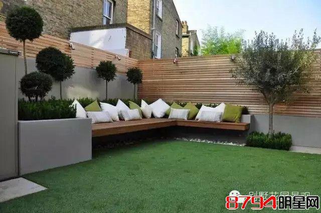 庭院景观设计  wbr>|  wbr>园艺生活中的木质美