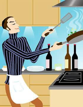 老公趁我旅游期间带前女友回家 还下厨为她做饭