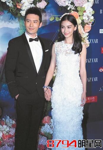 黄晓明Angelababy为何能邀请到马云做证婚人?