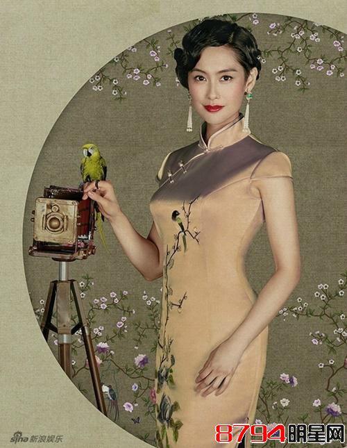 当紫霞仙子东方不败穿上老上海旗袍《偶像》集结众女神绝美登场