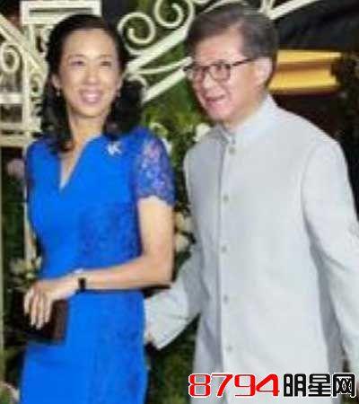 朱玲玲现任丈夫罗康瑞-霍英东与三任老婆吕燕妮等育有10个儿子