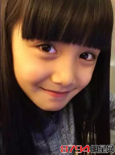 中国最美童星张籽沐因为她长的像