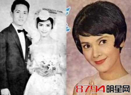长城三公主陈思思历任老公高远50年代婚纱照_陈思思高远合作盘点图片
