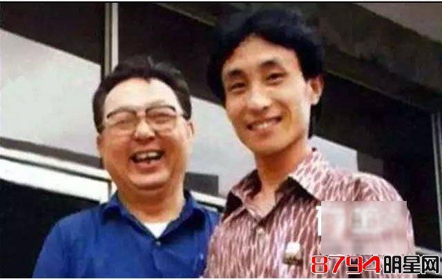 唐杰忠和徒弟巩汉林图片
