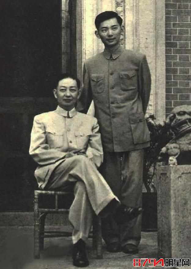 梅葆玖与父亲梅兰芳罕见合照首曝光