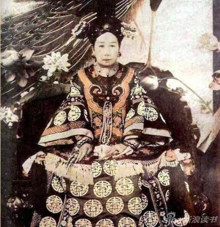 慈禧太后和光绪帝逃离北京