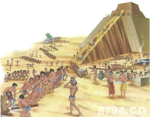 古埃及人就是这样修建金字塔的