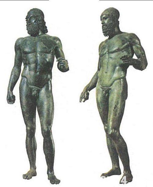 古希腊武士像