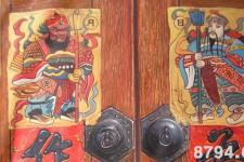 避邪驱魔门神画是哪两位 门神的来历故事