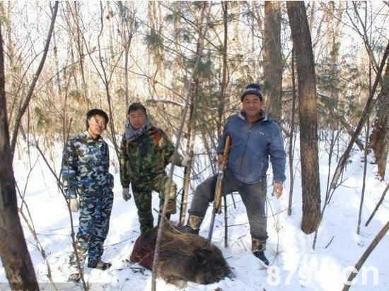 长白山狩猎的技艺