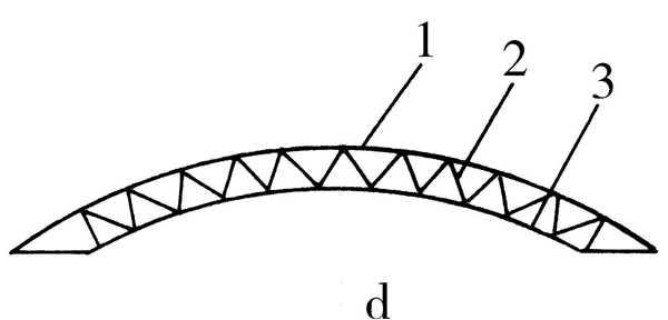在三角形,钟楼式和通风式屋顶中,通常采用三角形屋架.