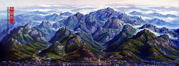 泰山资料:人文景观是最为丰富 与自然景观的结合极佳