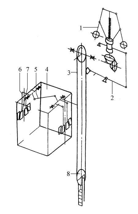 电梯导轨制动器结构图