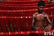印度染织工艺