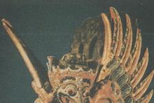 印度尼西亚木雕神鹰像