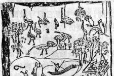 澳大利亚树皮画:澳大利亚土著们特有的原始艺术作品