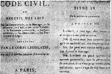 拿破仑法典的制定 《法典》的酝酿和难产