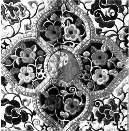 皮带纹手绘图案