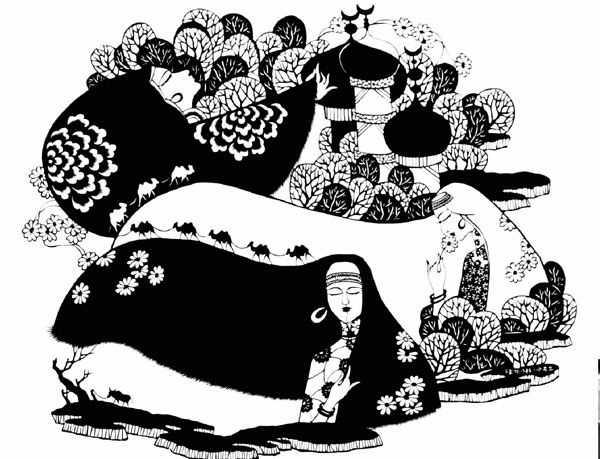 回族民间工艺美术 包括雕刻,刺绣,剪纸介绍[第2页]