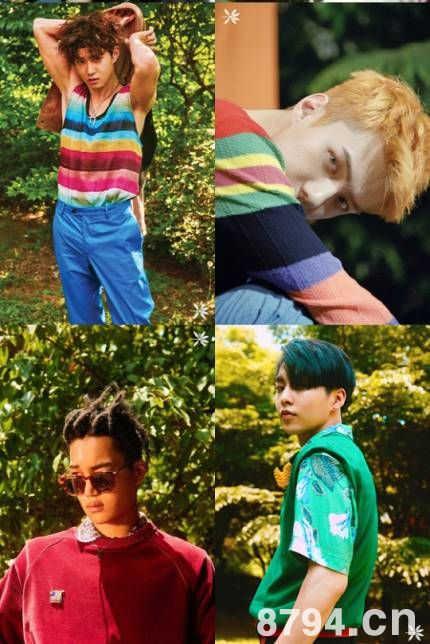 男子组合EXO携手新的世界观回归
