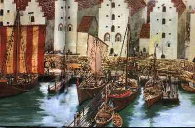 【汉萨同盟】汉萨同盟形成的历史条件 汉萨同盟的衰亡