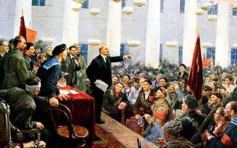 俄国十月社会主义革命的胜利与二月革命后俄国
