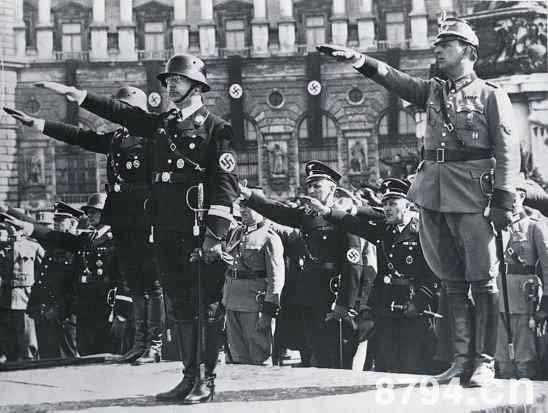 """纳粹德国的战时经济 闪击战的暂时得逞与""""和平式的战时经济"""""""