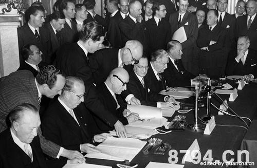 欧洲共同体产生的历史背景和政治经济基础 欧洲共同体的性质和作用