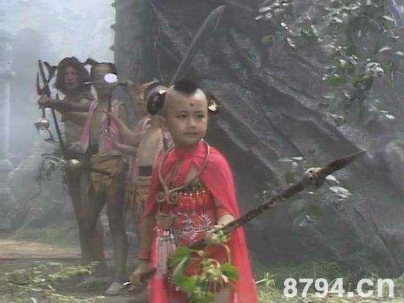 西游记红孩儿人物形象鉴赏 红孩儿的性格特点图片
