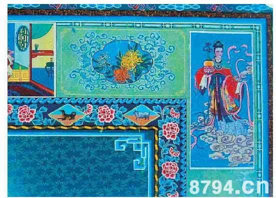炕围画的历史文化介绍