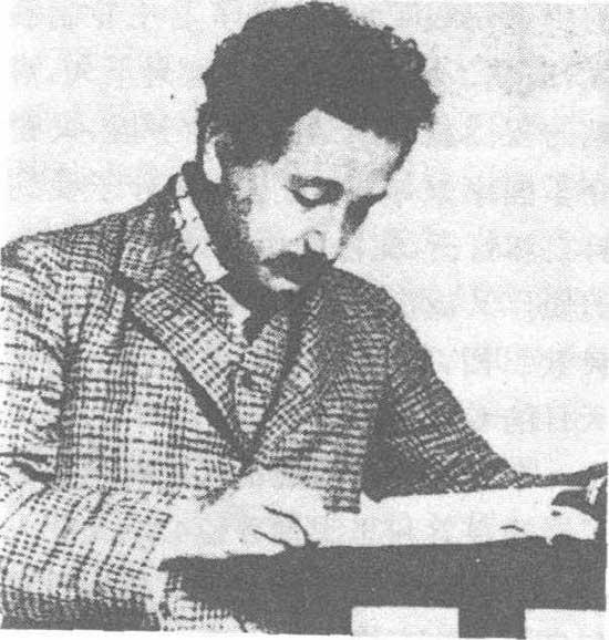 爱因斯坦宣读论文