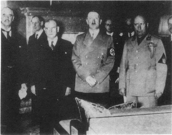 【慕尼黑协定名词解释与影响】现代史上的一笔丑恶交易