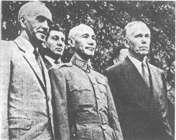 【蒋介石是哪一年挑起的国共内战】蒋介石依仗美援逆潮流而动
