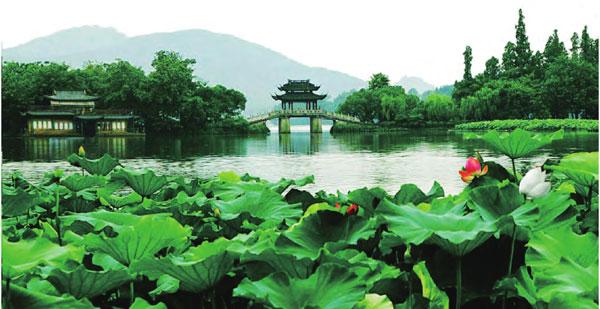 最美看点:夏季最美季节:湖光山色融为一体的绝美景致,美丽的传说翡翠长春万科别墅图片
