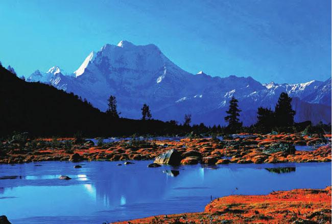 四川最美值得去的地方稻城亚丁雪山守护的神秘净土 旅游最佳季节
