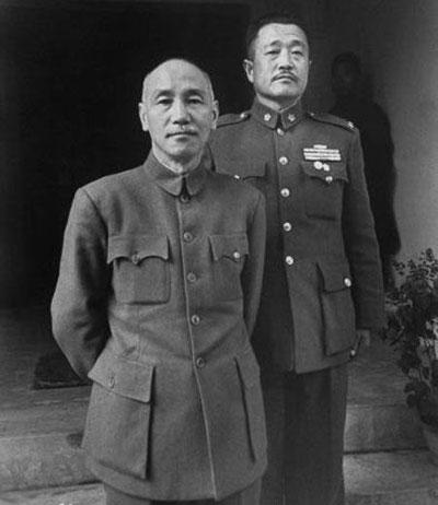 杜聿明与蒋介石