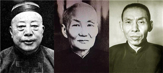 上海三大亨黄金荣,张啸林,杜月笙