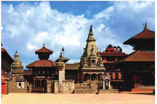 杜巴广场是世界上最具特色的广场,上面神像、庙宇众多。