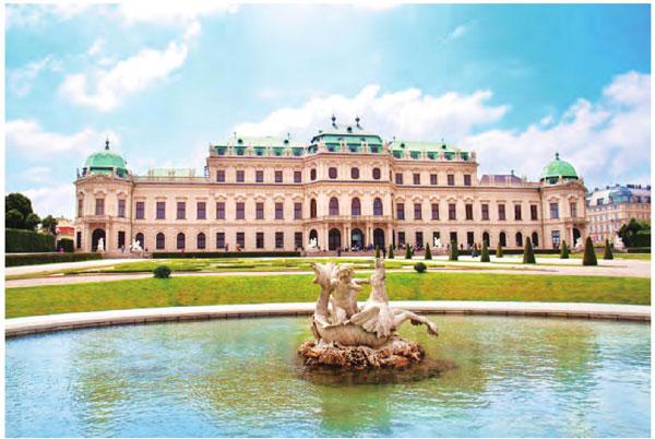 茜茜公主曾居住过的美泉宫,堪称维也纳的标志性景点。