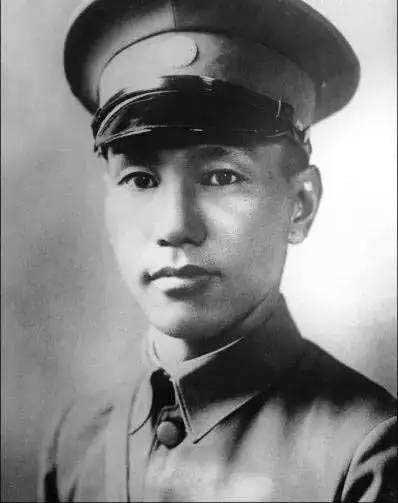 青年时期的蒋介石