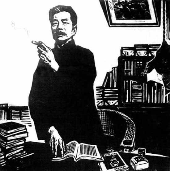 鲁迅的生平事迹_作家鲁迅先生的简介资料 鲁迅的生平故事事迹 鲁迅在文学史上的 ...