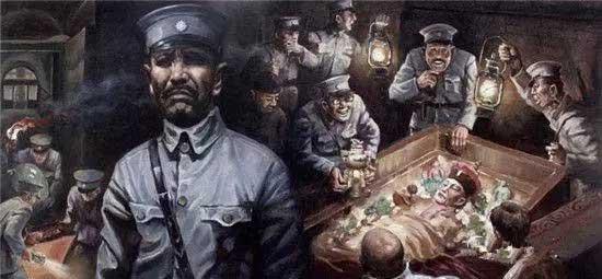孙殿英生平经历简介怎么死的 孙殿英抗战事迹与盗慈禧墓的过程