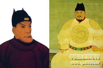 关于朱元璋长相的民间故事